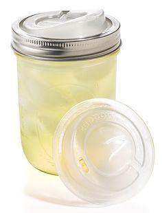 """Thanks to """"cuppow"""" take mason jars on-the-go!"""