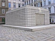 Rachel Whiteread VIenna Holocaust Memorial  - Judenplatz