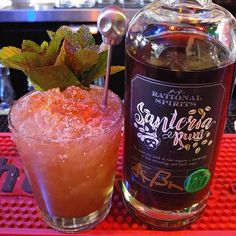 Today's #planterspunchdaily is brought to us by the fine folks at @rational_spirits and the tremendous generosity and kindness of Bryan and Joanne from @lostspiritsdistillery . You guys are the best!  Black Magic Planter's Punch: Bitters Nutmeg Cayenne Lime Black Magic Blend @rational_spirits Santeria Rum Voodoo washed mint bouquet