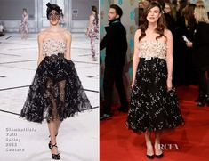 Keira Knightley In Giambattista Valli Couture – 2015 BAFTAs