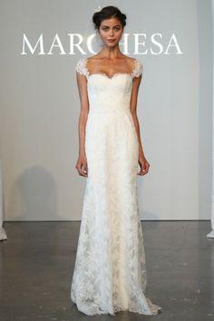 Marchesa, lace dress 2015