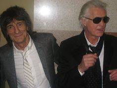 Ronnie Wood & Jimmy Page