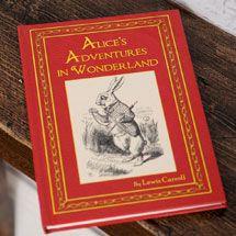 Personalised Alice's Adventures in Wonderland Book