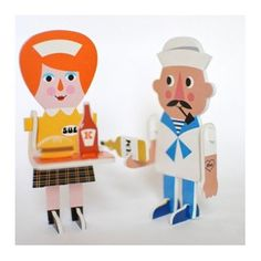 Character Parade puzzle, 12 characters * Ingela P Arrhenius * www.the-pippa-and-ike-show.com