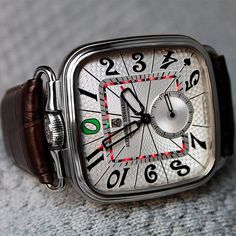 """Gambler's choice: The new """"Dostoevsky"""" series. Available with silver and black guilloched dial. #alexandershorokhoff #avantgarde #dostoevsky #gambling #artonthewrist"""