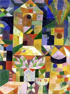 View Garden View by Paul Klee on artnet. Browse more artworks Paul Klee from ArtWise. Arte Popular, Wassily Kandinsky, Abstract Art, Abstract Paintings, Indian Paintings, Oil Paintings, Painting Art, Landscape Paintings, Mosaic Art