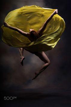 Dancing - Galini Gyrtatou,modern dancer.
