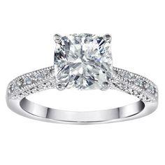 Pretty engagement ring!