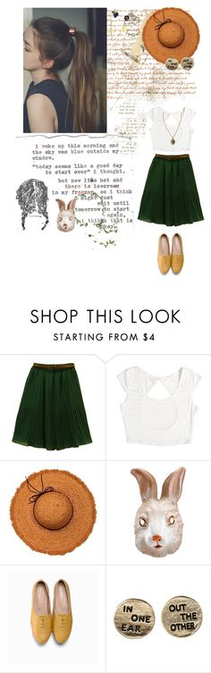 """""""life is too short to spend it at war with yourself"""" by awkward-turtles ❤ liked on Polyvore featuring Again, OLIVE des OLIVE, La Fiorentina, Paul Frank and Urban Renewal"""