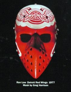 I was digging through the closet again and noticed a lot of mask stuff that hadn't received a lot of appreciation recently. Hockey Helmet, Ice Hockey Teams, Hockey Goalie, Hockey Stuff, Detroit Hockey, Detroit Sports, Montreal Canadiens, Native American Humor, Nhl