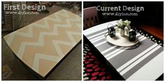 DIYLori Coffee Table Designs http://www.diylori.com/2014/07/more-quick-and-easy-table-makeovers.html
