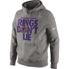 Men's Baltimore Ravens Gray Super Bowl XLVII Champions T-Shirt
