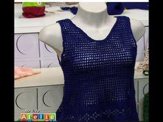 Claudia Maria Cropped Anne Azul