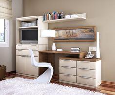 I like the cantilevered desk suspended between furniture units -- cool-teen-bedroom-design-16.jpg (719×600)