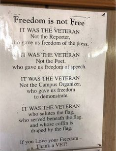 Veterans Day Quotes, Quotes To Live By, Life Quotes, Faith Quotes, Qoutes, Freedom Of The Press, Freedom Quotes, I Love America, Political Quotes