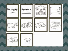 The Napping House by Audrey and Don Wood ~ Kindergarten though Grade 2 ~Literacy Activities and {Freebie!}