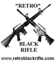 retro black rifle