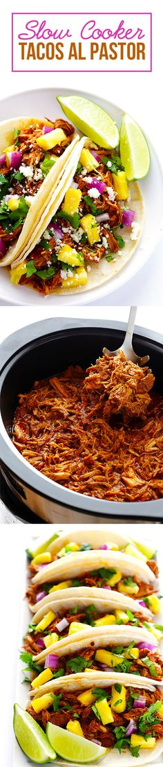 Slow Cooker Tacos Al Pastor | 7 Delicious Dinners For Your Busy Week