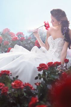 Gown by Disney Fairy Tale Weddings by Alfred Angelo