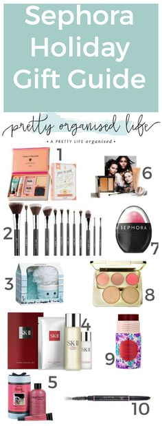 Sephora Holiday Gift Guide | Christmas Gift Ideas | Christmas Gifts for Her