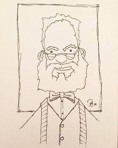 #inktober Day 19: The Professor #manuscriptinktober @manuscrip… http://j.mp/1LyJUm6