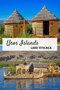 The unique Uros Islands in Lake Titicaca are the manmade home of dozens of people. A visit here offers an interesting glimpse into an unusual culture in the middle of the world's highest navigable lake.