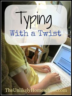 Touch Typing for Kids-The Unlikely Homeschool