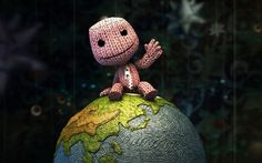 video games Earth Sackboy funny artwork Little Big Planet / Wallpaper Little Big Planet, Planets Wallpaper, Cool Wallpaper, Hd Widescreen Wallpapers, Cute Wallpapers, 1920x1200 Wallpaper, Wallpaper Wallpapers, Geeks, Video Game Art