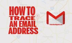 Learn how to trace an email address easily. #computermalware