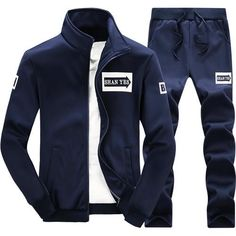 Cheap man set, Buy Quality casual hoodies directly from China hoodie set Suppliers: Mountainskin 2017 Men's Sets Casual Hoodies Sets Solid Sweatshirts Spring Autumn Tracksuit Male Sweatpants And Sportswear Terno Casual, Traje Casual, Casual Suit, Hoodie Sweatshirts, Sports Sweatshirts, Athleisure, Mode Costume, Track Suit Men, Sport Pants