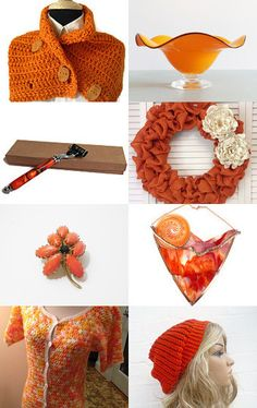 Orange You Glad It's Monday by Laurie and Joe Dietrich on Etsy--Pinned with TreasuryPin.com