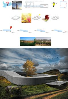 vineyard gallery, architectural diagram, visualization