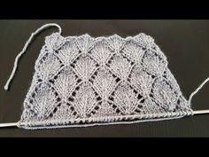 Sıralı Yapraklar Örgü Modeli Kabartmalı - YouTube Knitting Stitches, Knitting Patterns, Purple Wedding Centerpieces, Cardigan Design, Moda Emo, Gallery Frames, Crochet Needles, Knit Pillow, Rattan Basket
