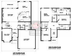 house plans house plans canada stock custom - 2 Story House Plans