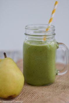 ShareThis Green Kale, Pear, and Almond Smoothie will help you reset after too much chocolate this holiday season. The protein from the almond butter and chia seeds will keep you full until lunch. Christmas is over? How is that possible? It went by in a flash and now I'm thinking about 2016. How was your … … Continue reading →
