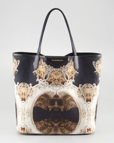 Antigona Church-Print Shopper, Medium by Givenchy at Bergdorf Goodman.