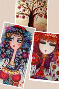 Canan Berber collages