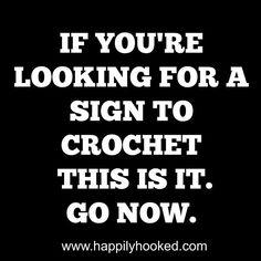 GOOOO! Knitting Humor, Crochet Humor, Knitting Yarn, Funny Crochet, Craft Quotes, Cute Quotes, Best Quotes, Funny Quotes, Love Crochet