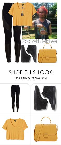 """""""Zoo with Michael"""" by lovatic92 ❤ liked on Polyvore featuring Givenchy, Keds, Monki and Wet Seal"""