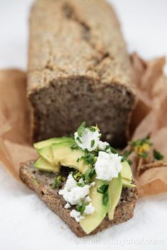 Buckwheat & Chia Bread | The Healthy Chef, Teresa Cutter