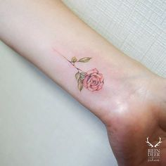 minimalist rose tattoo - Google Search