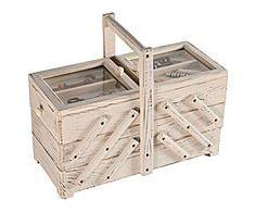 Costurero de madera – blanco