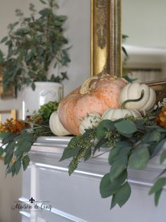 fall home decor 80 Elegant Ways to Decorate for Fall - The Glam Pad
