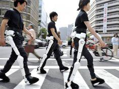 Japão desenvolve pernas robóticas que auxiliam movimento