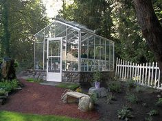 The Traditional, 10 sq. meter, neatly placed with a nice groundwall. http://garden-greenhouse.se/