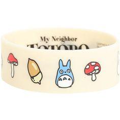Best Bracelet 2017/ 2018 : Studio Ghibli My Neighbor Totoro Icons Rubber Bracelet Hot Topic