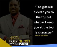 Day 3 - Morning Session Holy Ghost Congress 2018 Ministering - Pastor Ben Ndobe Topic: The gift of prophecy/ Five fold ministry of a prophet. Text: 1 Corinthians 12 The 3- fold purpose of the Gift of prophecy. 1) For edification (1 Corinth. 14:4-5) Edification means to build up strengthen reinforces edifies spiritually. 2) For exaltation ( 1 Corinth 14:3-31) Exaltation means to minister encouragement and motivate believers to do the will of God in their lives. It does not criticize people…