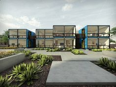 Container House - Shipping container housing project being built in Phoenix : TreeHugger - Who Else Wants Simple Step-By-Step Plans To Design And Build A Container Home From Scratch?