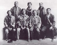 At a Tanana Chiefs conference on July 5 and 6, 1915, Native leaders established some of the concepts used by Congress to establish guidelines for the Alaska Native Claims Settlement Act of 1971. Description from alaskool.org. I searched for this on bing.com/images