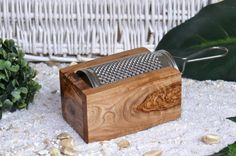 Parmesan / Cheese Grater Made From Olive Wood by Olivenholz-erleben on Gourmly